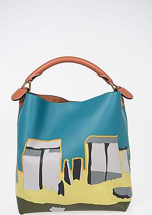 Loewe Leather Bucket Bag with STONEHENGE Print size Unica