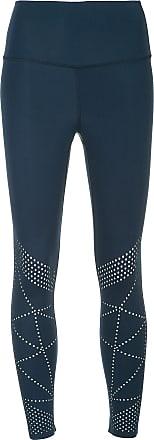 Nimble Activewear Legging slim perfurada - Azul