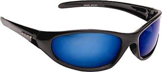 Eyelevel Mens Dark Wrap Around Sports Biker Ski Sunglasses Cool Designer Reflective Shades + Case UV400