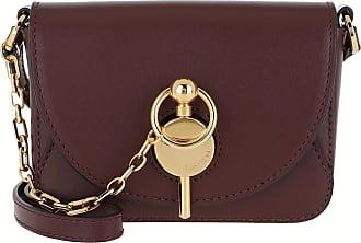 J.W.Anderson Cross Body Bags - Nano Keyts Bag Burgundy - brown - Cross Body Bags for ladies