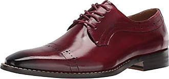 Stacy Adams Mens Shallon Cap-Toe Lace-Up Dress Oxford, red, 9.5 M US