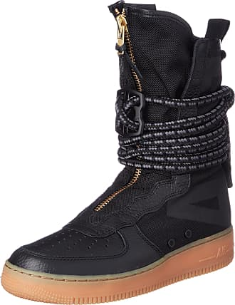Nike Tênis Nike Air Force 1 Special Field High Sneaker Boot Black (39)