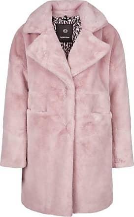 Sportalm Fake Fur Mantel mit kuscheligem Revers Größe:34
