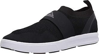 Quiksilver Mens Amphibian Plus Slip-ON II Water Shoe, Black/Grey/White, 10 UK