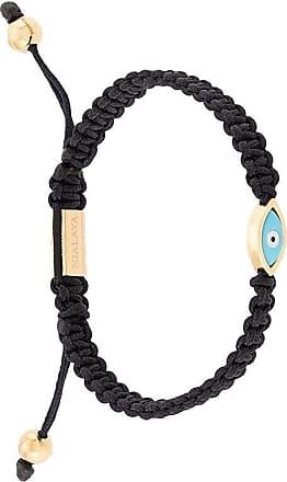 Nialaya Evil Eye string bracelet - Black