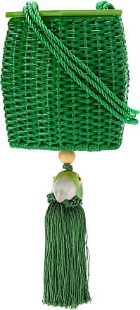 Waiwai Bolsa Fauna vime laqueado - Verde