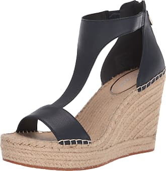 Kenneth Cole Womens Espadrille, Wedge Blue Size: 7.5