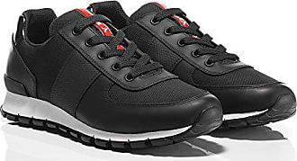 9fc024e8ef3f Prada Herren Sneaker Schwarz Schwarz, Schwarz - Schwarz - Größe  ...