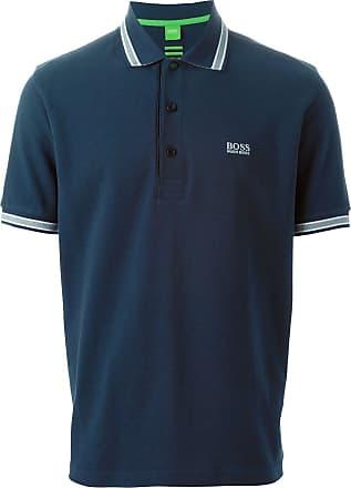 BOSS Camisa polo - Azul