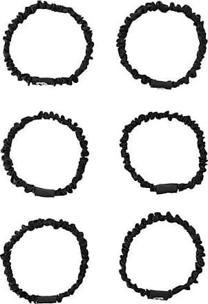 Silke London Set Of 6 Hair Ties - Cleopatra - Black