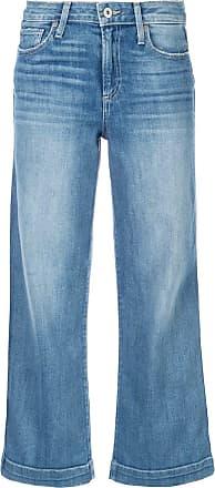 Paige Nellie cropped jeans - Preto