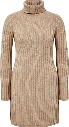 include Roll-neck jumper in new milled wool and cashmere include brown