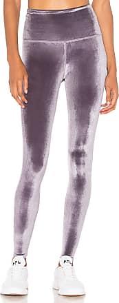 Beyond Yoga Velvet Motion High Waisted Midi Legging in Purple