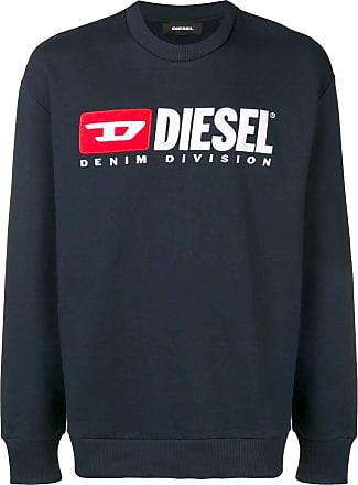 Diesel crew-neck 90s sweatshirt - Blue