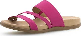 Gabor Pantolette Pink Textil