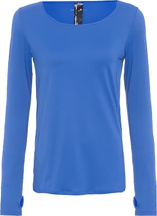 HOPE RESORT T-shirt Manga Longa - Azul