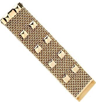 Hermès Collier De Chein Mesh Gold Bracelet