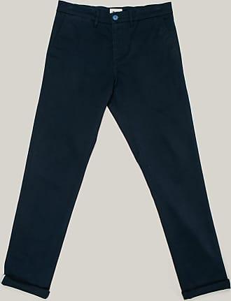 Brava Fabrics Mens Chino Pants - Mens Casual Chino Pants - Chino Pants for Men - Model Sumo Boy Navy