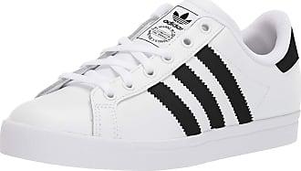 adidas Originals Unisex-Kids Coast Star Sneaker, White/Black/White, 5.5