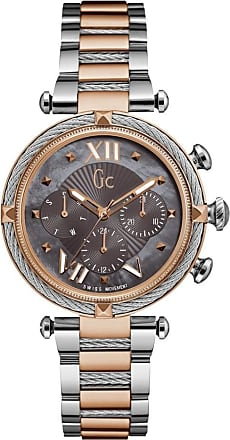 Acotis Limited Gc Watches Gc Cable Chic Ladies Grey Mother of Pearl Y16015L5