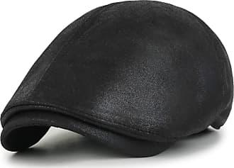 Ililily New Men¡¯s Flat Cap Vintage Cabbie Hat Gatsby Ivy Caps Irish Hunting Hats Newsboy with Stretch fit - 001-2
