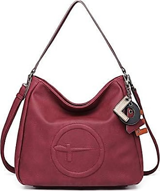 Schultertasche TAMARIS Pamela Shopper Bag Handtasche Damentasche in Metallic