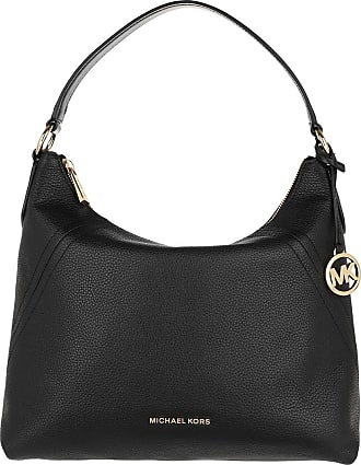 Michael Kors Hobo Bags - Aria Large Shoulder Bag Black - black - Hobo Bags for ladies