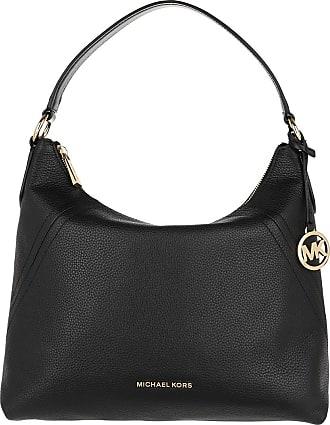 Michael Kors Aria Large Shoulder Bag Black Hobo Bag schwarz