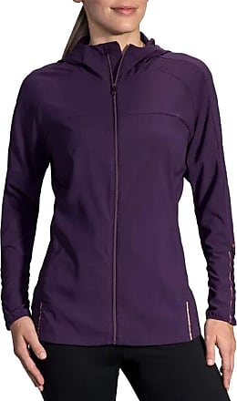 Brooks Canopy Jacket Berry/Rose Gold MD (Womens 8-10)