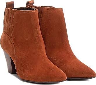 fe0074a655 Shoestock Bota Couro Chelsea Shoestock Salto Grosso Feminina - Feminino