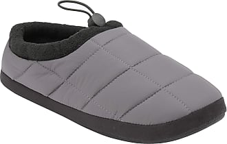 Dunlop Mens Mule Indoor Home Slippers Shoes (6/7 UK, Grey)