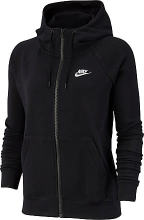 Nike Essential Sweatjacke Damen in black-white, Größe XS