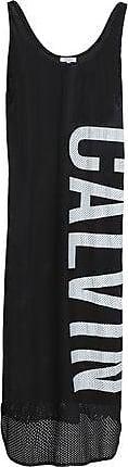 Calvin Klein Calvin Klein Woman Printed Mesh Coverup Black Size S