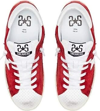 2Star Sneakers Donna Rossa. 5.5 Red