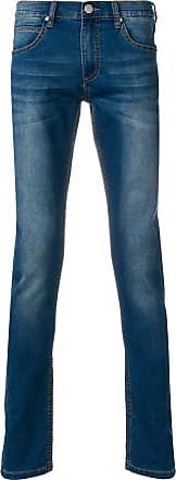 Versace Jeans Couture faded slim fit jeans - Blue