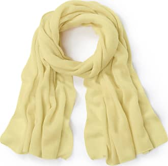 Peter Hahn Scarf in 100% cashmere Peter Hahn Cashmere yellow
