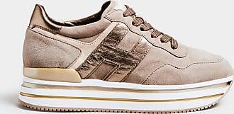 Hogan sneakers in camoscio