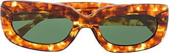 George Keburia Óculos de sol tartaruga - Marrom