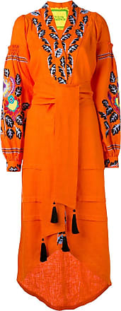 Yuliya Magdych Eden Tree kaftan - Orange