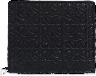 Loewe Wallet With Logo Womens Black