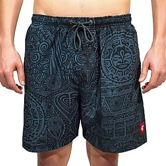 Kevland Underwear Short Kevland Maori All Black Tamanho:GG;Cor:Preto