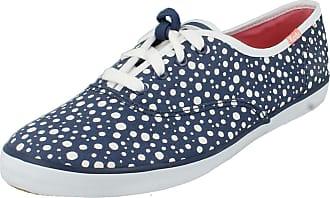 0156e87ec36 Keds Ladies Canvas Shoes CH Bubble Dot - Navy Canvas - UK Size 3.5 - EU
