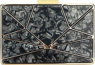 YYW Stylish Handbag Evening Box Bag Charming Clutch Bag Elegant Cocktail Party (Black)