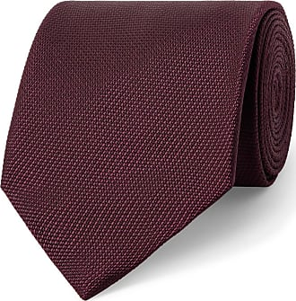 Tom Ford 8cm Woven Tie - Burgundy