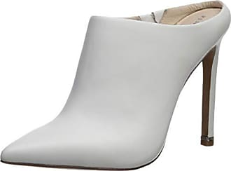 b1e7ee5f70 Kenneth Cole Womens Riley 110 MM High Heel Mule Pump White 8.5 M US