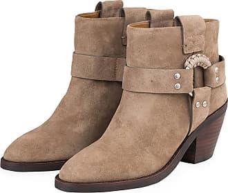 SEE BY CHLOE Stiefelette beige nude Damen Schuhe Leder Leder