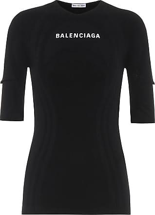 Balenciaga Bedrucktes Top aus Jersey