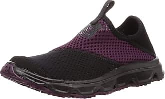 Salomon Salomon Womens Recovery Shoes, RX MOC 4.0 W, Colour: Black/Black/Potent Purple, Size: UK size 7.5