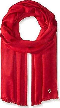 a4c5bcedaba639 Calvin Klein Womens Solid Satin Finish Pashmina, Rouge, One Size