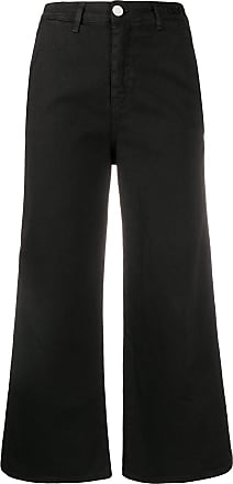 Frankie Morello Calça jeans cropped - Preto